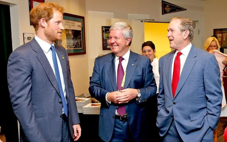 Prince Harry asked on TV if he wants to marry George W Bush's daughter