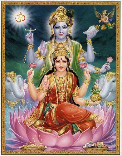 Laxmi & Vishnu