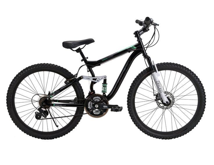 Huffy 26Inch Ladies DS7 Dual Suspension Bike (Black
