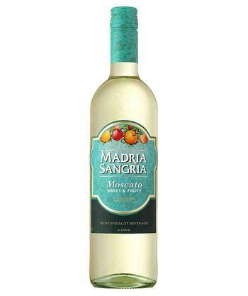 Madria Sangria- Moscato. Tasty with fresh fruit!