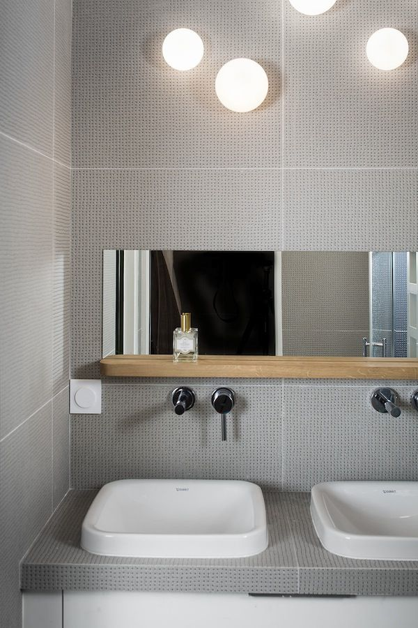 les 25 meilleures id es de la cat gorie carreaux de m tro gris sur pinterest dalle de douche grise. Black Bedroom Furniture Sets. Home Design Ideas