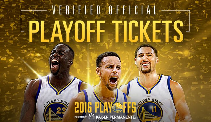 Warriors Tickets for the 2016 NBA Playoffs, Presented By Kaiser Permanente, Available During Exclusive Presale Events This Week | Golden State Warriors