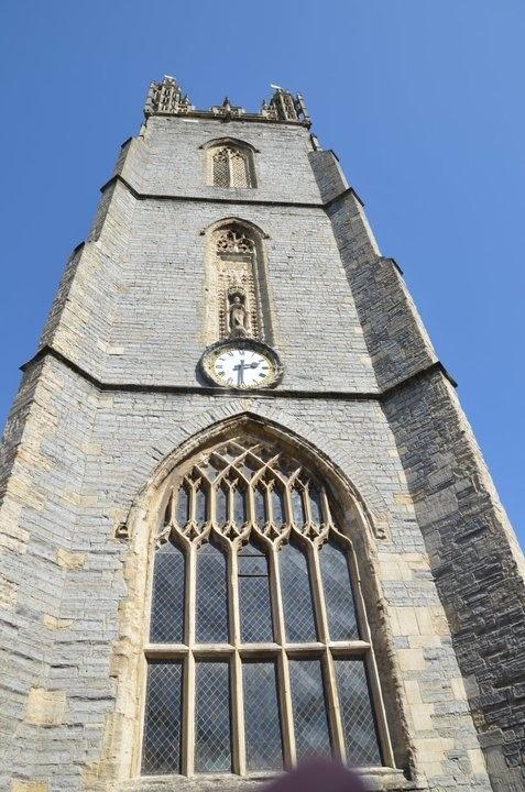 The tall Tower (St. John the Baptist Parish Church - Cardiff, Wales, UK)
