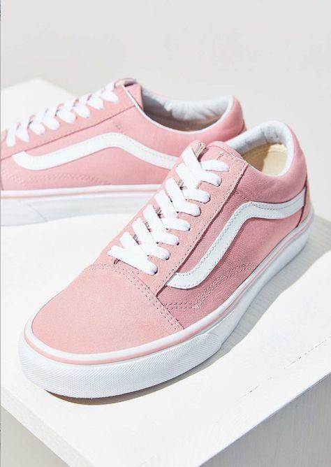735be9114e VANS Low-Top popular pink overseas planning VANS Old Skool Pink