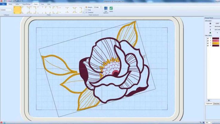 6D™ Embroidery Intro Software - Schritt für Schritt zum eigenen Design.