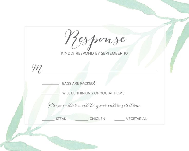 Online Wedding Invitation Wordings: Best 25+ Wedding Rsvp Ideas On Pinterest