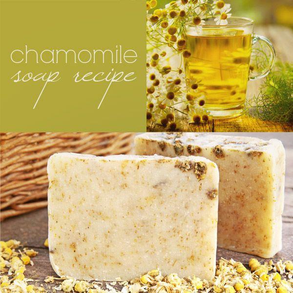 Jabón de Manzanilla DIY (proceso en frío)