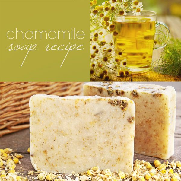 DIY Chamomile Soap (Cold Process)