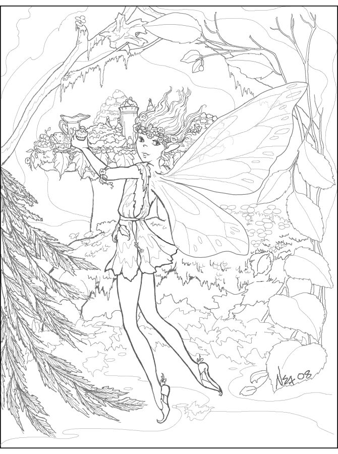 10 images about craft princes n princesses on pinterest for Water fairy coloring pages