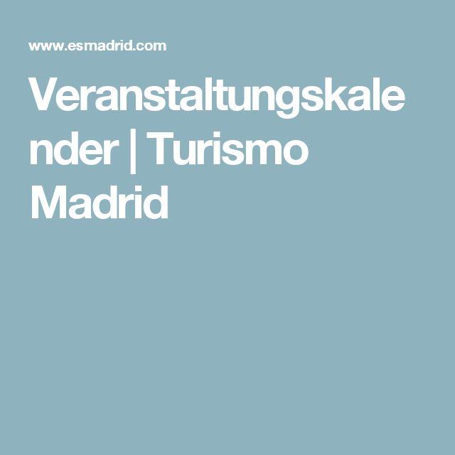 Veranstaltungskalender | Turismo Madrid