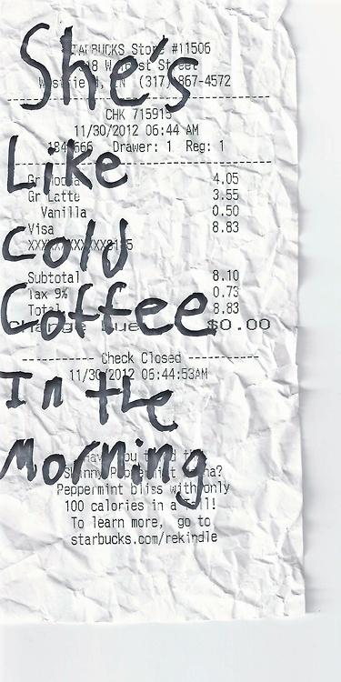 Cold Coffee by Ed Sheeran Ed sheeran quotes, Lyrics