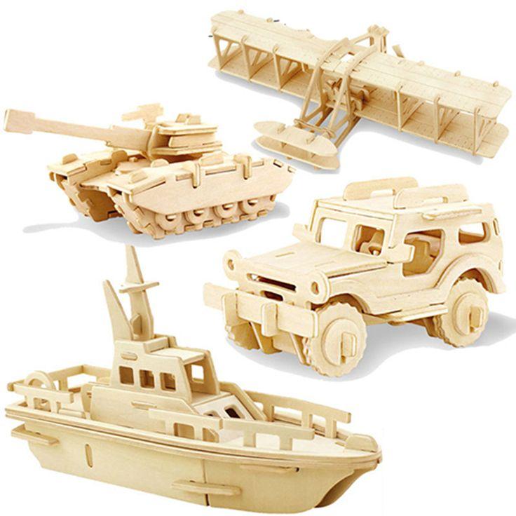 ROKR Wooden Mechanical Models-Adult Craft Set-3d Laser