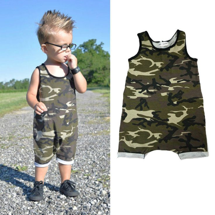 >> Click to Buy << 0-3Y Camouflage Baby Boy Kid Newborn Romper Jumpsuit Bodysuit Cool Soldier Summer Vest Clothes Military Army Uniform Outfit #Affiliate