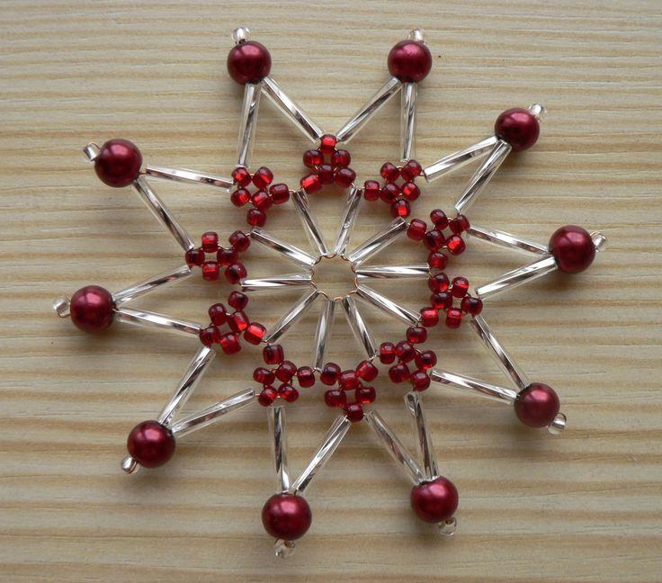Vánoční hvězda vínová