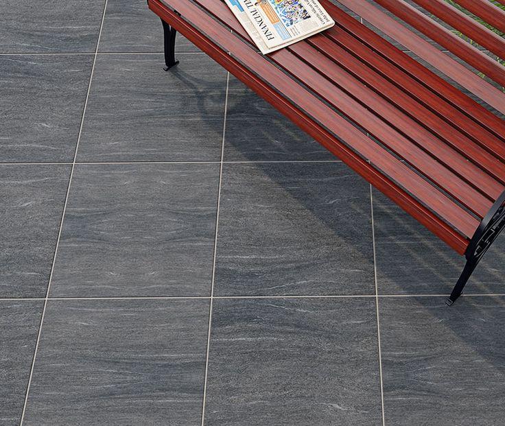PorcelPave Iona 18mm Stone Effect Porcelain Patio Tiles