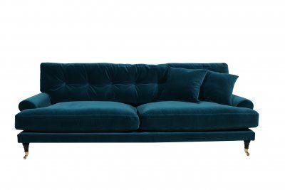 Soffal-sammet- blå-grön-Andrew