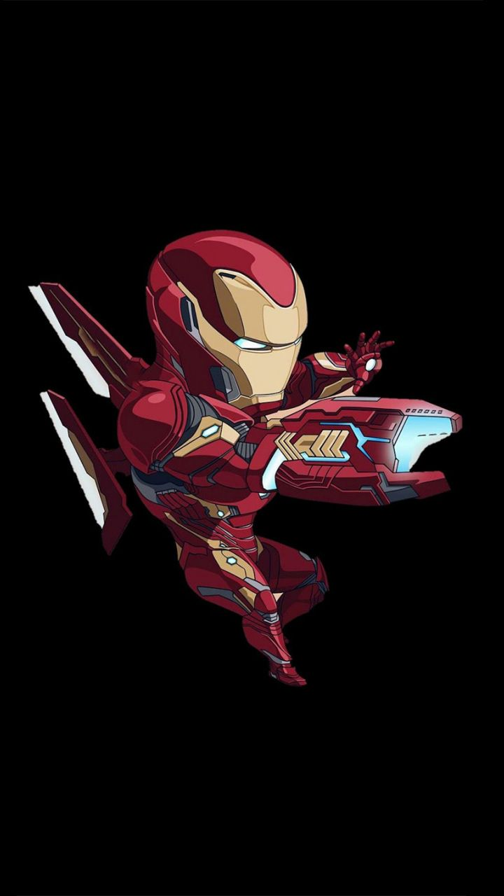 Iron Man Bleeding Edge Armor Artwork Minimal 720x1280