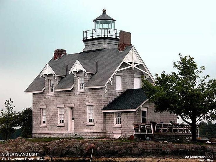 Sister Island Light-St. Lawrence River