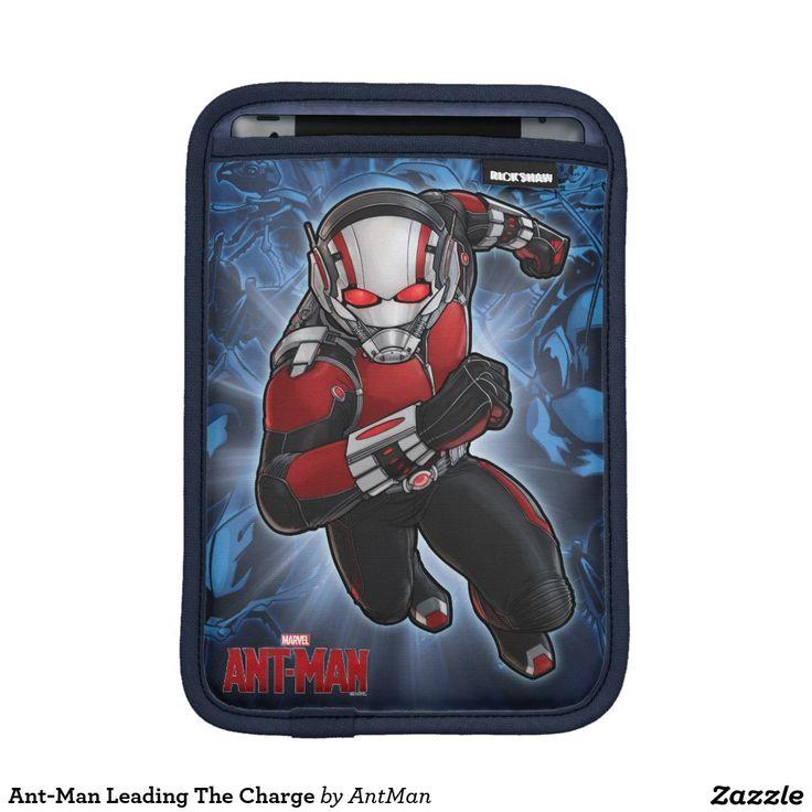 Ant-Man Leading The Charge iPad Mini Sleeve. Regalos, Gifts. #fundas #sleeves