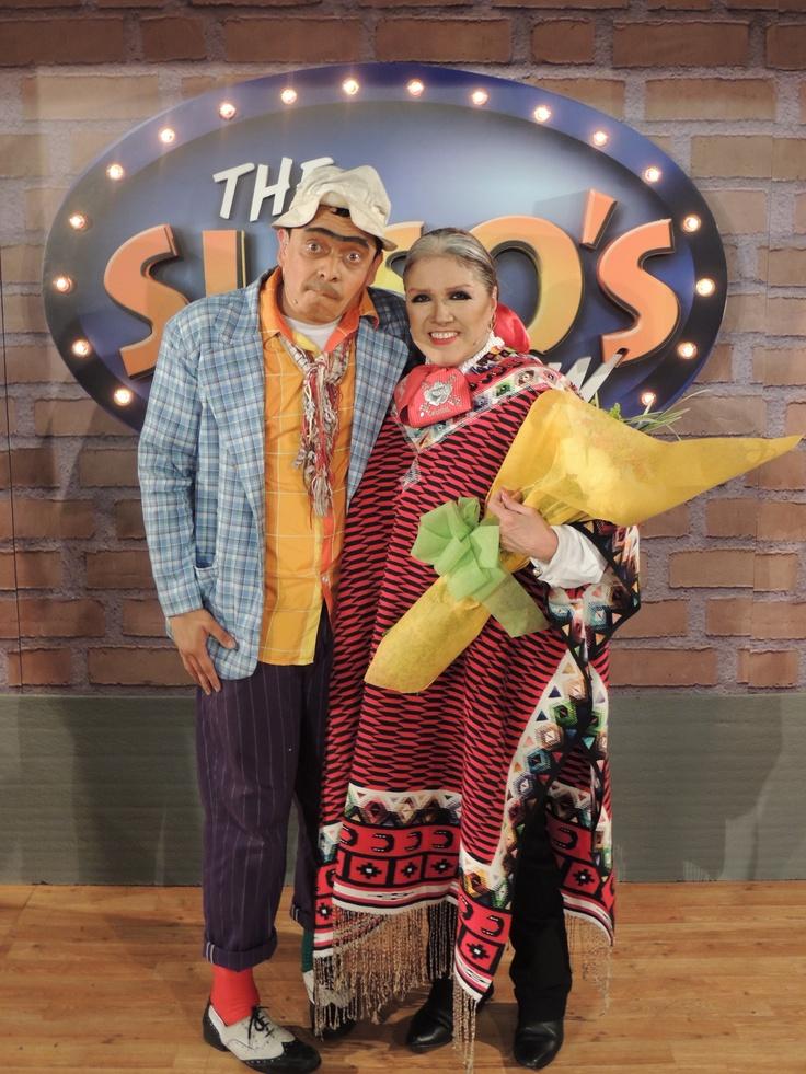 Alicia Juarez en su paso por The Suso's Show