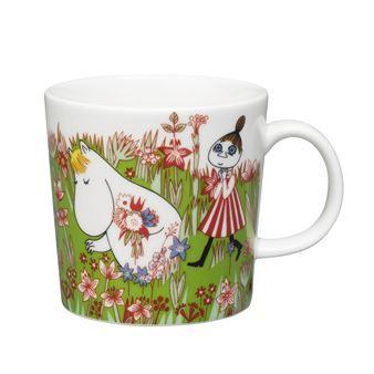 Moominsummer Moomin mug 2016 - green - Arabia... I intanly fell in love with this one!