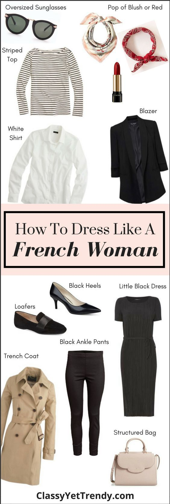 How to dress like a Frenchwoman (Trendy Wednesday # 110 # attracts #franzosin #trendy #wednesday