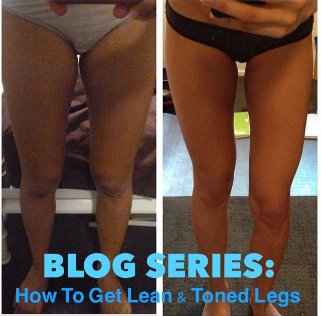 how to get lean legs not bulky