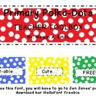 This is a template for the Teacher Toolbox seen on pinterest.  It was created using the primary colors (red, blue, green, yellow, orange) to decora...