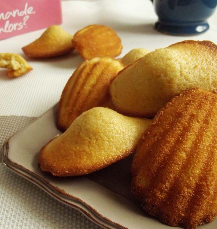 Madeleines au citron allégées - Recettes de cuisine Ôdélices