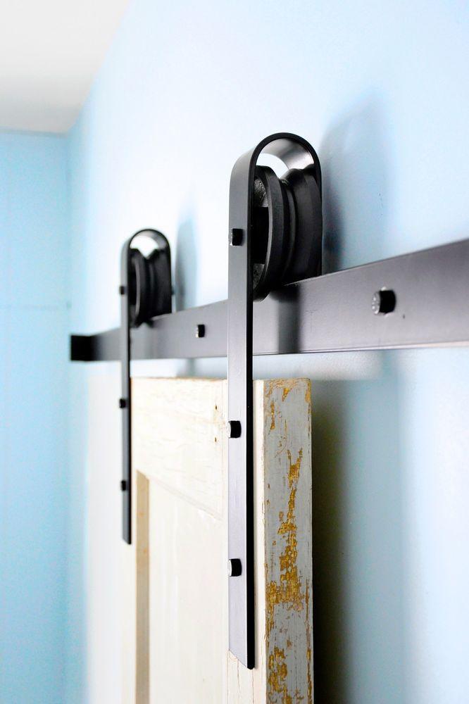 17 best images about barn doors on pinterest sliding barn doors diy barn door and powder for Diy interior barn door hardware