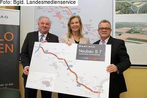 """Burgenland: """"Grünes Licht"""" für die S 7 Fürstenfelder Schnellstraße"""