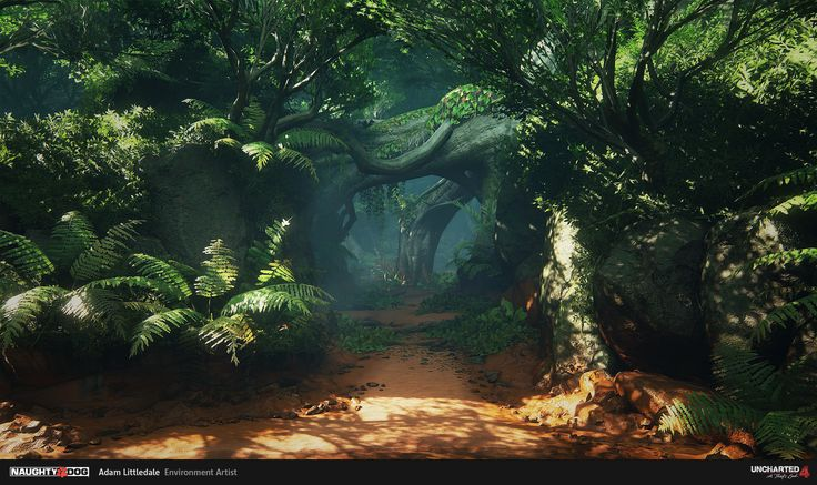 ArtStation - Uncharted 4 Environments, Adam Littledale