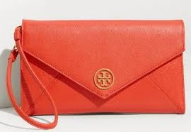 Tory Burch Wristlet Clutch. Available at Monkee's of Morrocroft, (704) 442-7337.