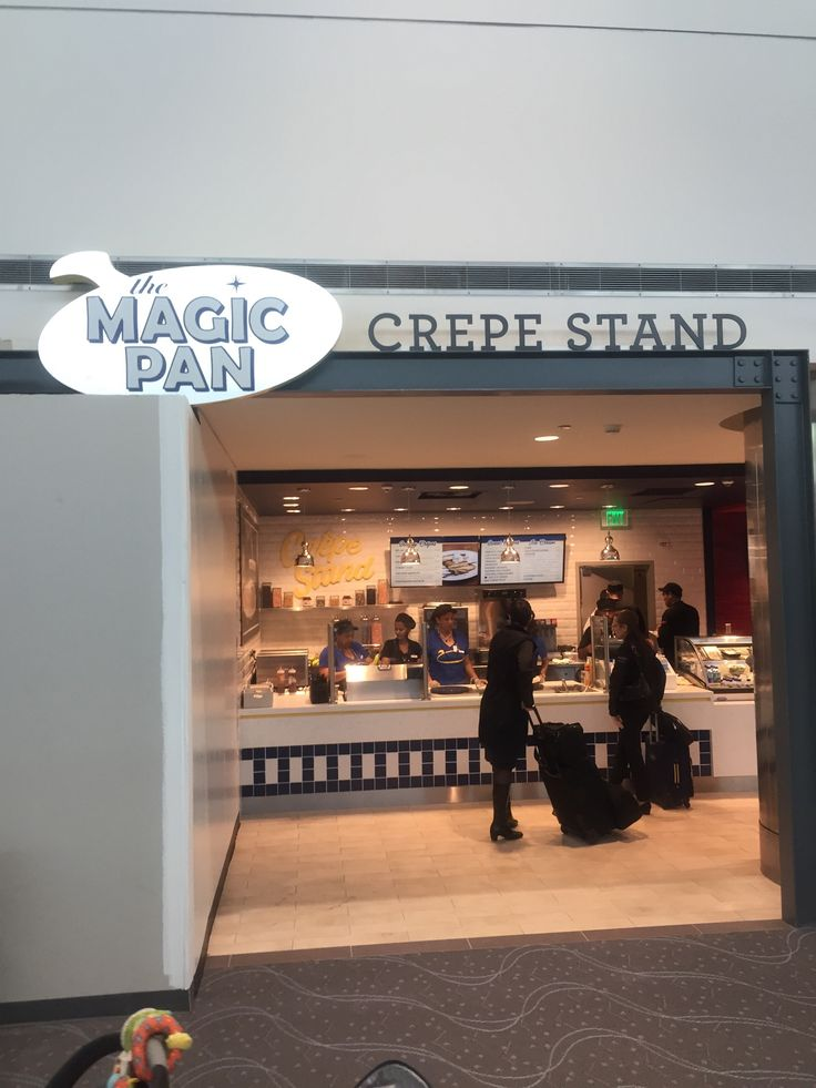 Magic Pan Crepe Stand in Denver, CO