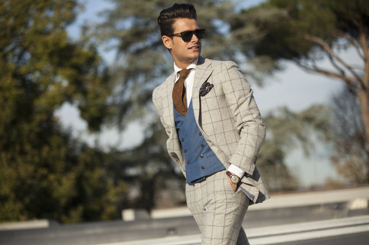 """Seventh picture in Frank Gallucci's blog post """"First day at Pitti""""."""
