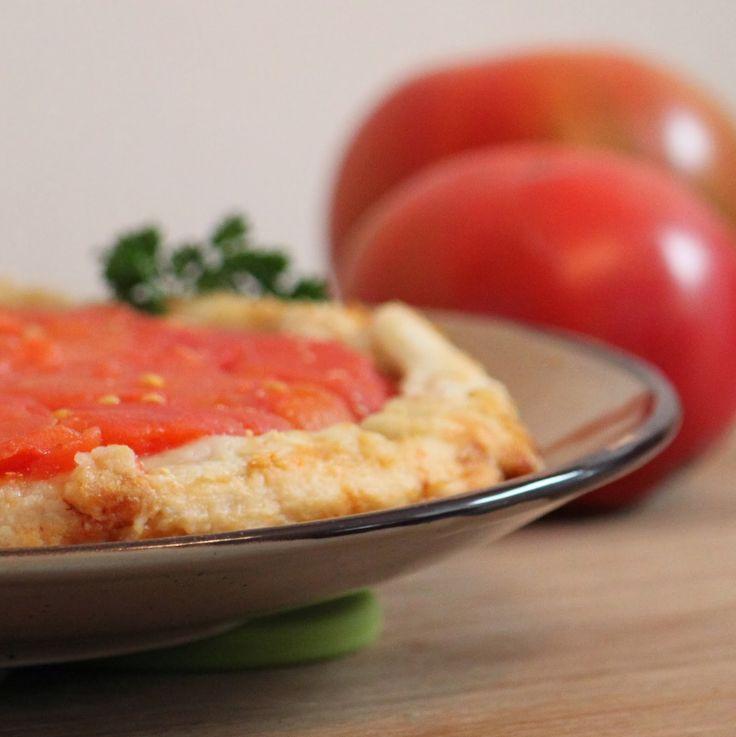 Tatin de tomates... Tomatoes upside down tart