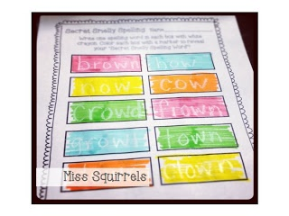 FREE Smelly Spelling (use smelly markers with spelling words): K-3rd