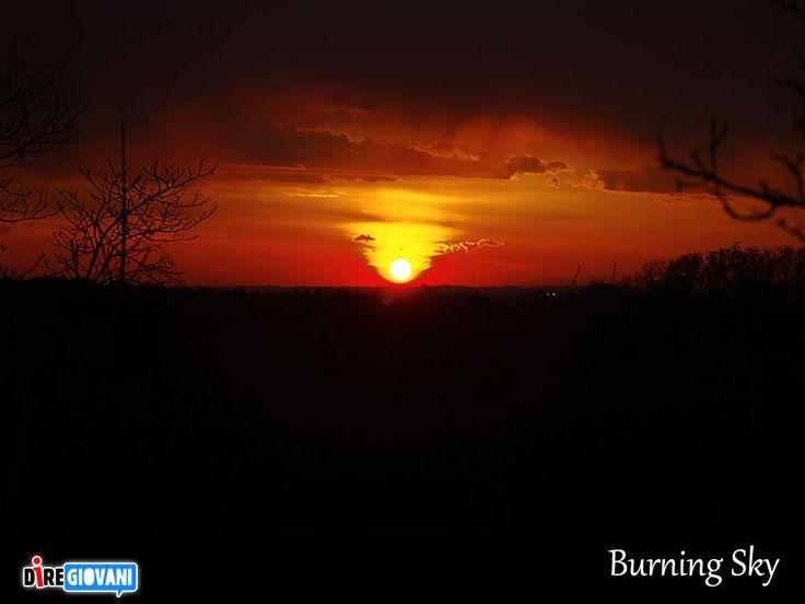 Burning Sky - Trieste, Italy