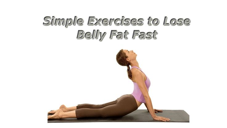 Simple Exercises to Lose Belly Fat Fast...