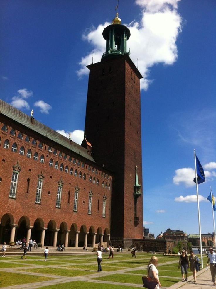 Stockholms Stadshus | Stockholm City Hall - Kungsholmen - Stoccolma, Storstockholm