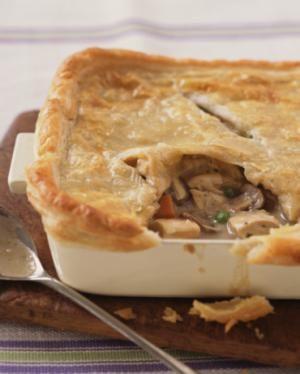 Turkey pot pie easy recipe