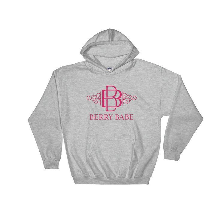 Hooded Berry Babe Sweatshirt