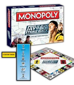 Jay and Silent Bob Strike Back Monopoly Game