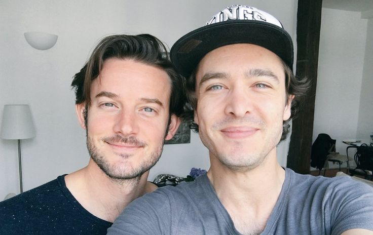 The amazing Alexander Vlahos & Evan Williams