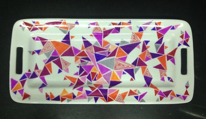 DIY: Fuentes pintadas   TITIAGUAYO.CL