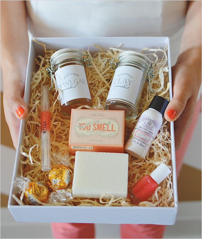 Create a beauty box for gal pals this holiday season.