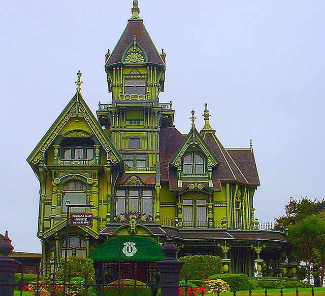 .: Places Houses, Arcata California, Eureka California, Carson Mansions, Houses Architecture, Castles Mansions Victorian, Paintings Lady, Victorian Houses, Photos Shared