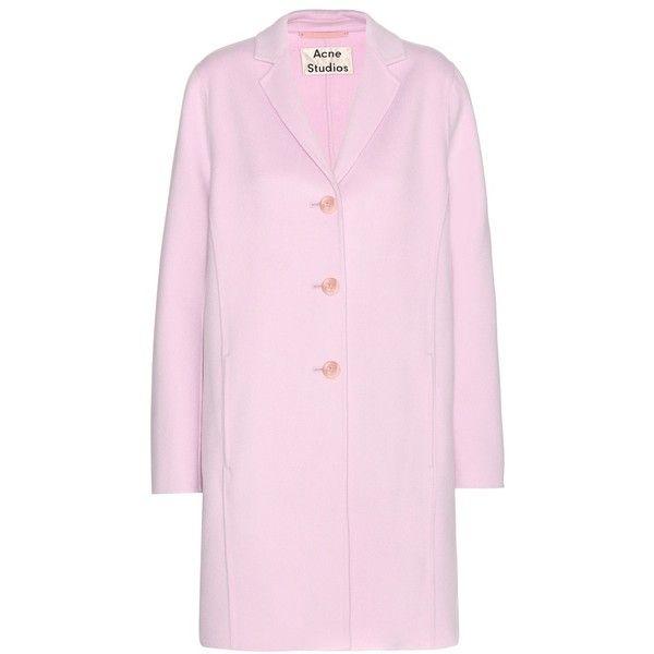 Best 25  Pink wool coat ideas on Pinterest | Wool coat, Pink coats ...