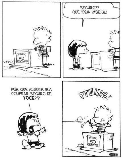 Calvin e Haroldo -  Tirinha nº 26