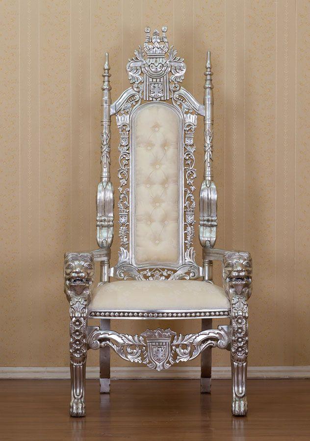 Silver Kings Throne Royal Pinterest
